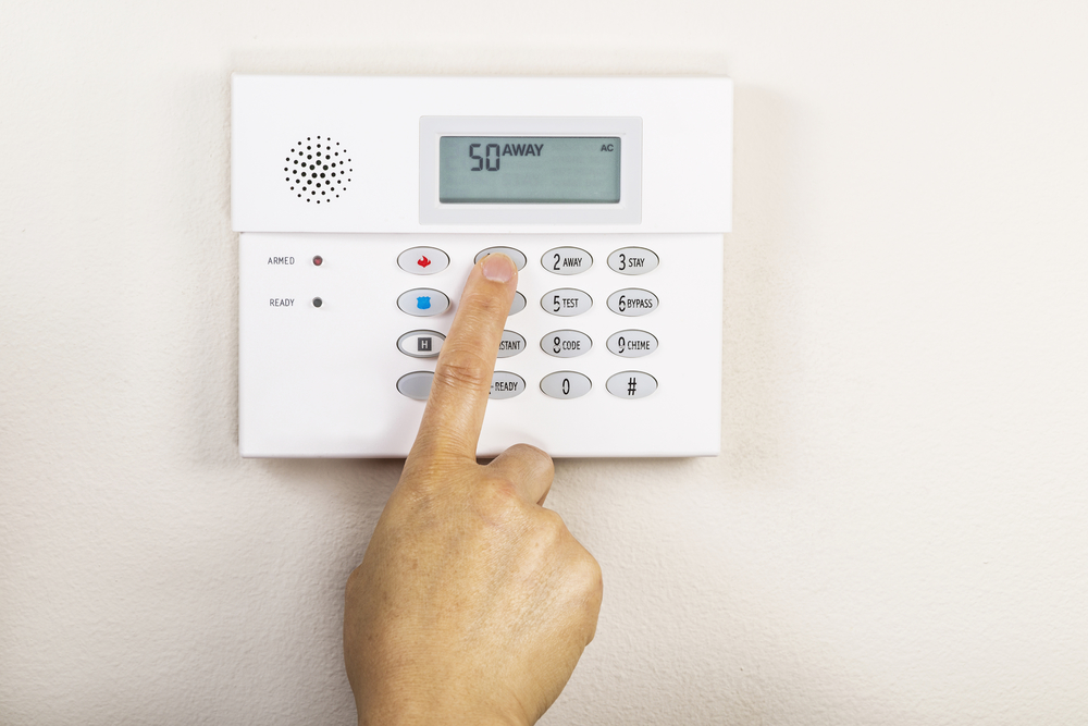 Finger Pushing Alarm System